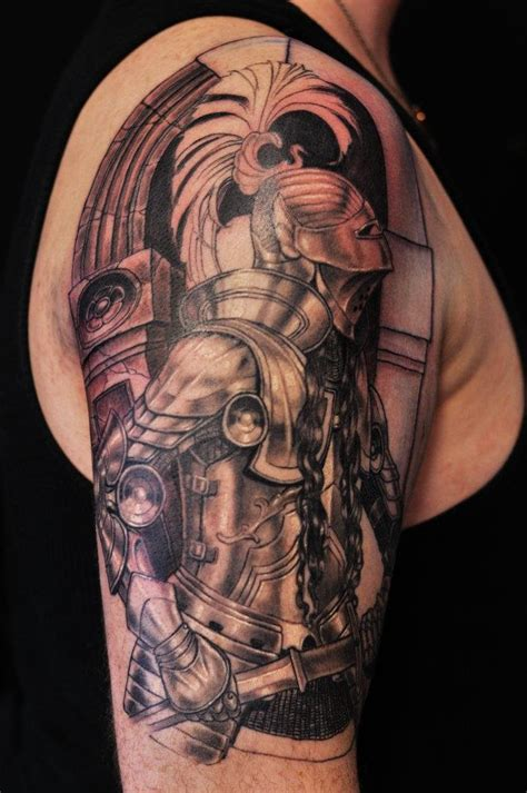 knight tattoo half sleeve www pixshark images
