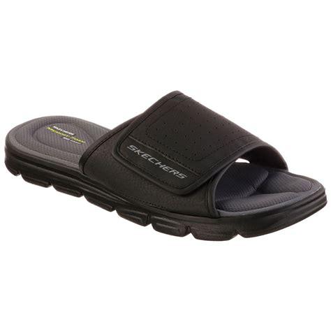 mens memory foam sandals skechers 2016 mens wind swell sandals memory foam flip