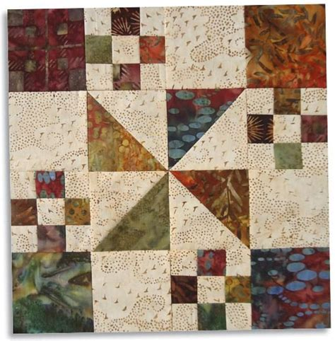 Free Fall Quilt Patterns by Free Pattern Autumn At The White House Block From