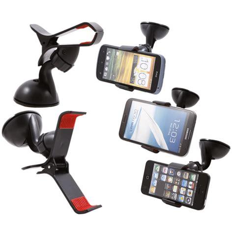2 In 1 Car Universal Holder Mobil Ac Dan Kaca A902 car universal holder for smartphone tripod 5 black
