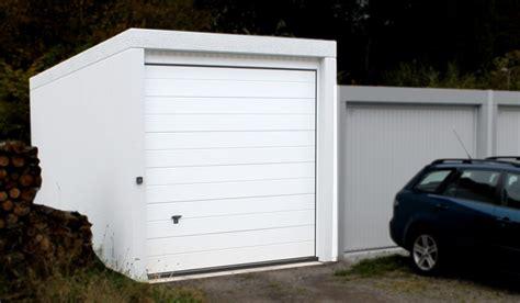 Kombi Garage Fertiggaragen Sehn