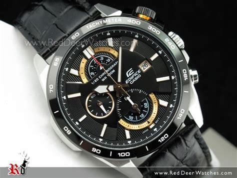 Edifice Ef 520 Black buy casio edifice chronograph black gold leather