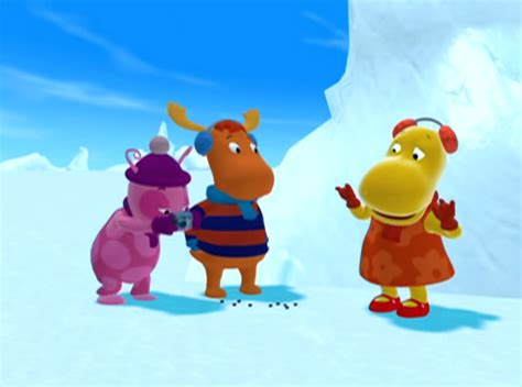 Backyardigans Episode 12 Image The Backyardigans The Yeti 12 Uniqua Tyrone