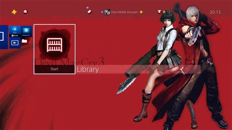 ps4 themes youtube devil may cry hd collection ps4 dynamic themes youtube