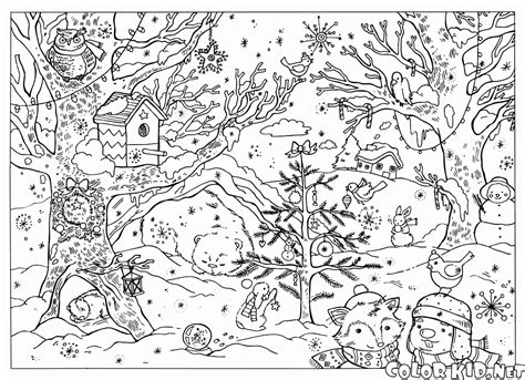 detailed snowflake coloring page coloriage paysage dhiver