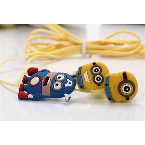 Earphone Minion earphone minion yellow jakartanotebook