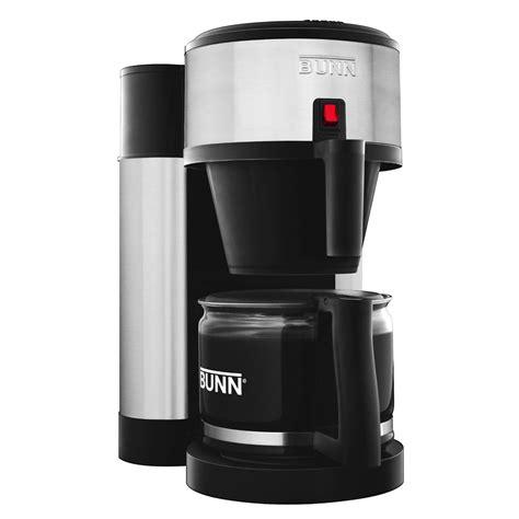 bunn coffee makers bunn nhs b home coffee maker black stainless 44900