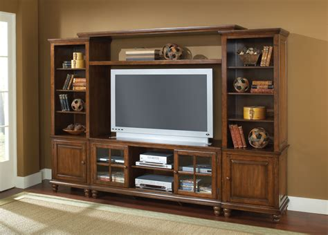 wall units hillsdale grand bay large entertainment wall unit warm