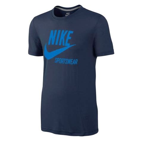 T Shirt Nike Sportwear Blue nike t shirt sportswear navy blue www unisportstore