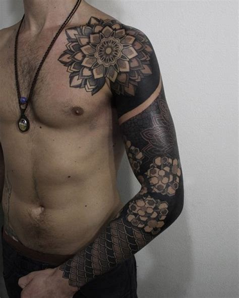 full black tattoo 100 best sleeve tattoos for