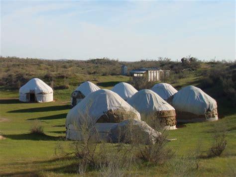 about uzbek yurts