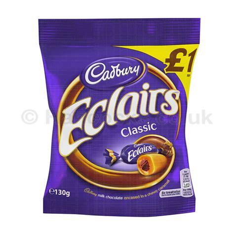 Cadburry Chocolate 3 In 1 cadbury chocolate eclairs 163 1 bag wholesale hancocks