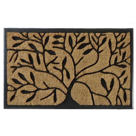 Rubber Tree Mats by Impression Shredding Tree 18 In X 30 In Rubber And