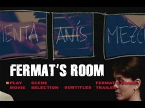 Fermats Room by Fermat S Room Blockbuster Exclusive Dvd Talk Review Of