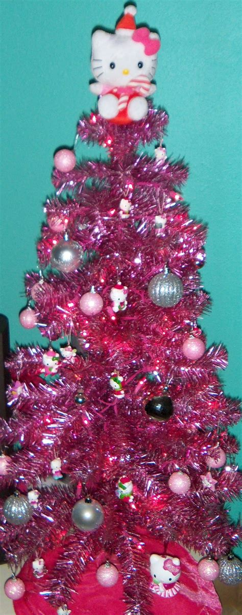 pink hello kitty christmas tree my christmas tree every