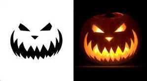best pumpkin carving patterns scary pumpkin stencils
