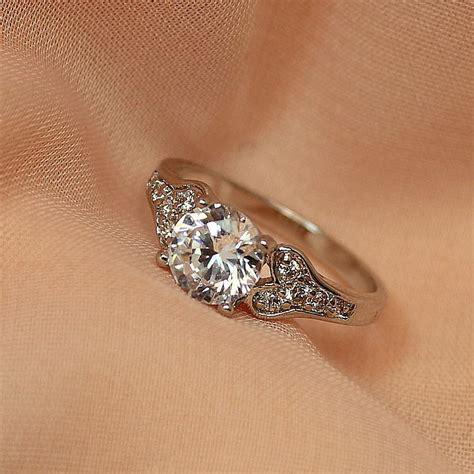 2018 2014 new authentic korean version diamond ring wedding ring finger ring finger ring micro