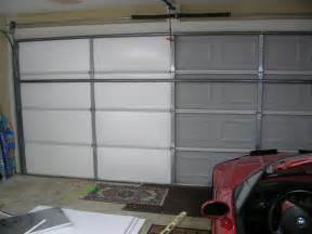 garage door insulation ideas living stingy insulating your garage door for cheap