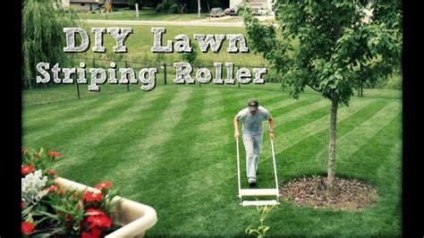 grass pattern roller diy lawn striping roller youtube