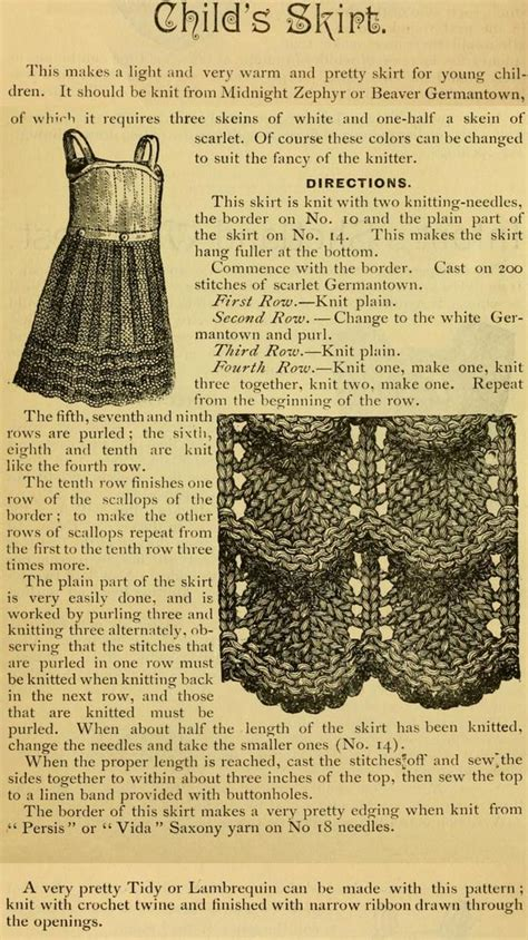 free vintage knitting patterns knitting patterns skirts on