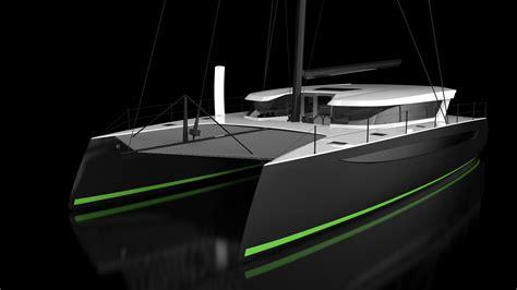 used catamaran boat show miami boat show carbon fiber luxury performance catamarans