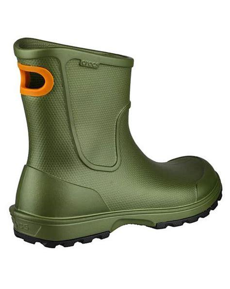 crocs wellie boot mens crocs mens welly boot jacamo