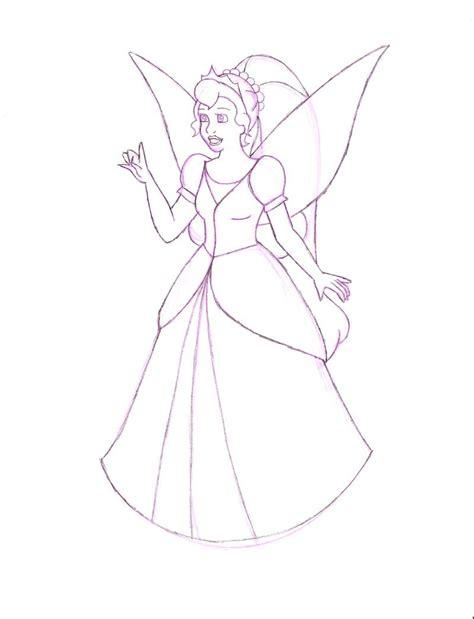 how to draw thumbelina