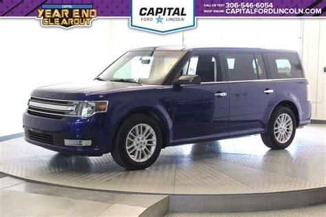 used ford suvs with 3rd row seating pre owned 2015 ford flex sel fwd 3rd row seating