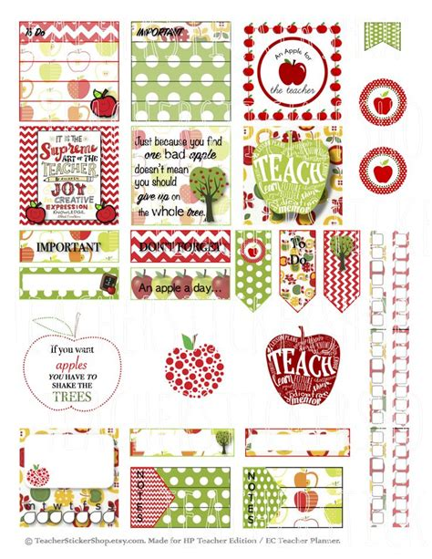 printable teacher planner stickers 243 best scrapbook clipart stickers images on pinterest