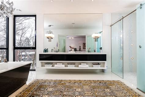 Modern Bathroom Mirrors Toronto Captivating Contemporary House In Toronto Canada