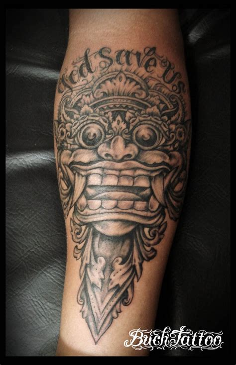 best tattoo artist bali 2015 buchtattoo bali barong by buchtattoo on deviantart