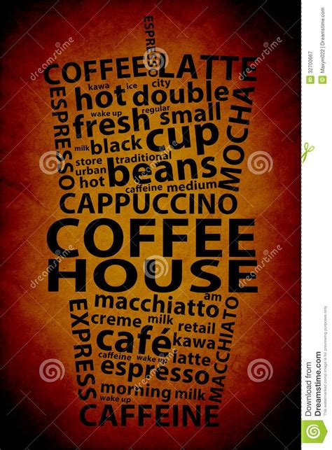 coffee poster wallpaper retro coffee ad background royalty free stock photography
