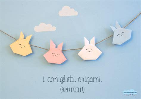 tutorial origami coniglietto