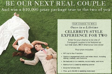 Real Sweepstakes Websites - be our next real couple sweepstakes sweepstakesbible