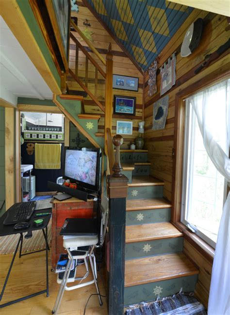 450 square feet tiny house town cottage with an eclectic interior 450 sq ft