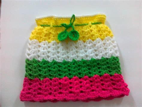 Rainbow Skirt 1 crochet rainbow skirt 1