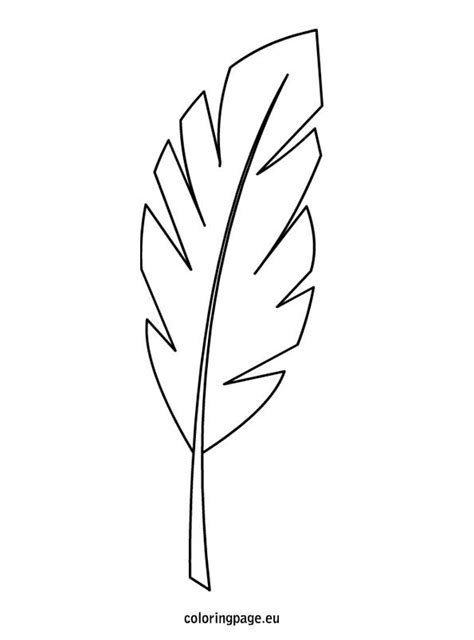 coloring page palm leaf easter template palm leaf sunday school lesson sketch