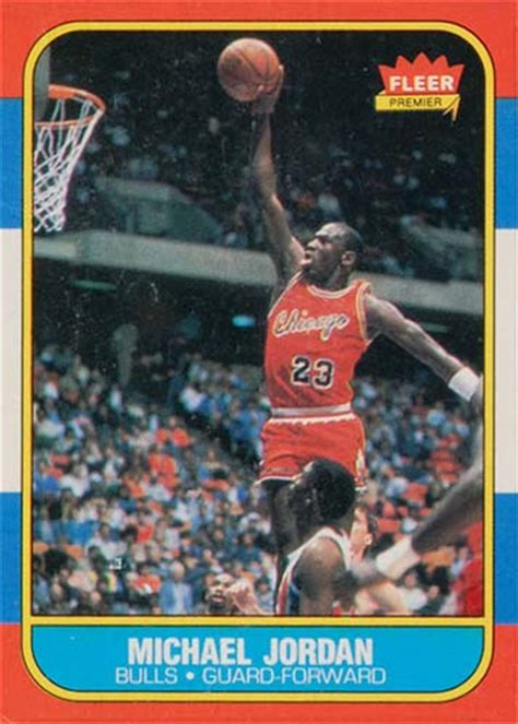 86 87 fleer basketball card template photoshop the early years collecting michael history in
