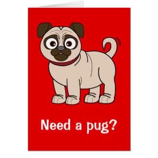 get well pug get well soon pug greeting cards zazzle