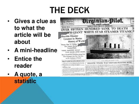 How To Make News Paper - assignment how to create a newspaper article