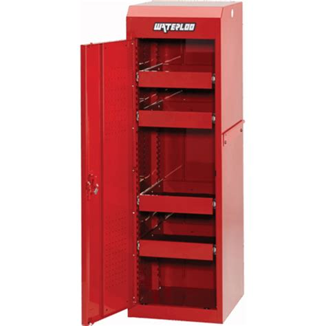 tool box side cabinet waterloo psl 18421rd side cabinet tool storage