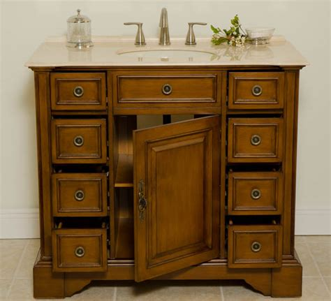 40 Inch Bathroom Vanity Aber 40 Inches Antique Single Sink Bathroom Vanity