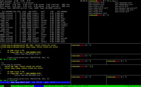 tmux layout names tmux terminal multiplexer ubuntu geek