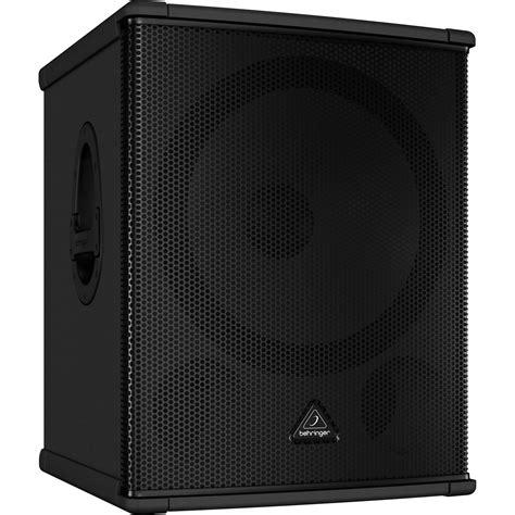Speaker Subwoofer Behringer behringer eurolive b1500hp active 2200 watt pa subwoofer b1500hp
