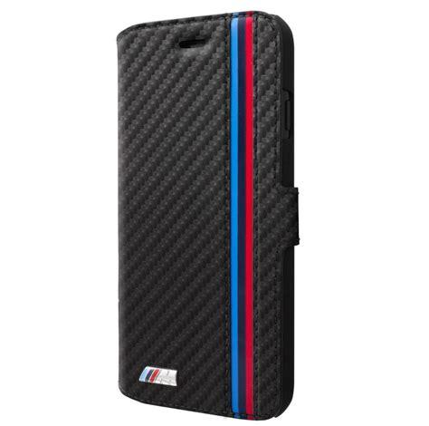 bmw m sport carbon effect booktype дизайнерски кожен калъф тип портфейл за iphone xs