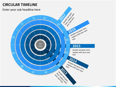 Circular Timeline Powerpoint Template Sketchbubble Circular Timeline Template
