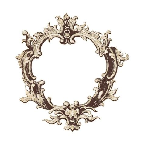 Decorative Picture Frames by Decorative Frame Png Found On Polyvore Xoxo Item