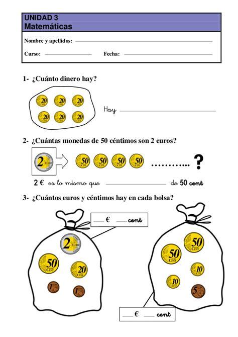calculo  euros el rincon de pensar