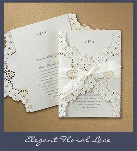 david s bridal lace wedding invitations lace wedding invitations