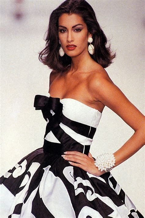 Valentino Joins The 90s Image Trend For His Ad Caign by Rp Fashionista All Time Best Yasmeen Ghauri By Rohn